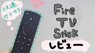 FireTVstick使用レビュー